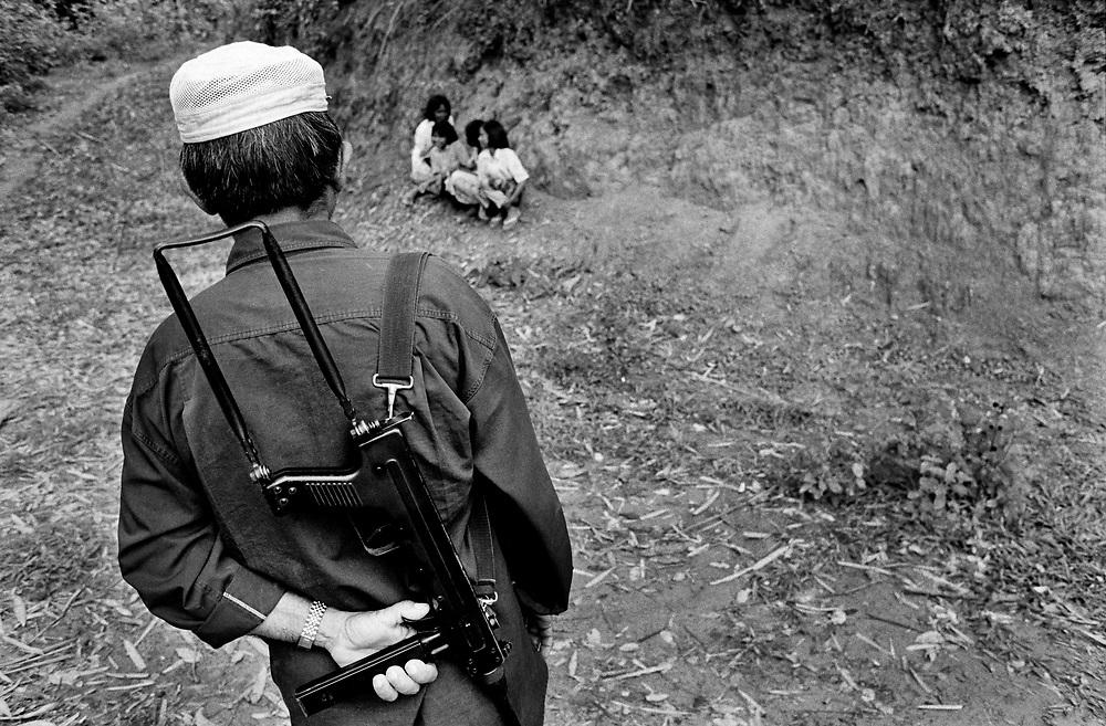 Aceh Merdeka (GAM) rebel held area Aceh June 1999