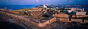 PUERTO RICO, SAN JUAN San Cristobal Fort and skyline