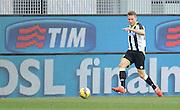 Udine, 15 febbraio 2015<br /> Serie A 2014/15. 23^ giornata.<br /> Stadio Friuli.<br /> Udinese vs Lazio<br /> Nella foto: il centrocampista dell'Udinese Silvan Widmer.<br /> © foto di Simone Ferraro