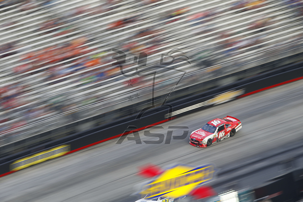 August 18, 2017 - Bristol, Tennessee, USA: Ryan Reed (16) battles for position during the Food City 300 at Bristol Motor Speedway in Bristol, Tennessee.