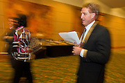 14 FEBRUARY 2011 - PHOENIX, AZ: US Congressman JEFF FLAKE walks into a press conference to announces that he is running for the US Senate seat being vacated by retiring US Sen. Jon Kyl before Flake's press conference in Phoenix, Monday, Feb.14. Congressman Flake has been in the US House of Representatives since 2001. He is considered a conservative Republican but supports loosening sanctions against Cuba and some form of comprehensive immigration reform. He represents a conservative neighborhood in Mesa, AZ, a suburb of Phoenix.   Photo by Jack Kurtz