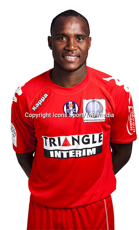 Ali Ahamada - 03.10.2014 - Portrait Officiel - Toulouse - Ligue 1<br /> Photo : Saada / Icon Sport