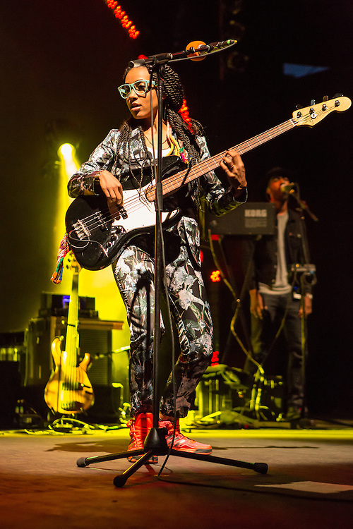 """Esperanza Spalding performing from her new series """"Emily's D+Evolution."""""""