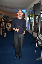 PATRICK GRANT at the World's Greatest Quiz Night in aid of the Quintessentially Foundation and Dimbleby Cancer Care held at the Riverside Parliament Panorama marquee at St Thomas' Hospital, Westminster Bridge Road, Londonon 15th September 2015.