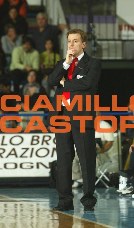 DESCRIZIONE : FAENZA CAMPIONATO LEGA2 2005-2006 <br /> GIOCATORE : CAVINA <br /> SQUADRA : IMOLA <br /> EVENTO : CAMPIONATO LEGADUE 2005-2006  <br /> GARA : IMOLA-SCAFATI <br /> DATA : 09/10/2005 <br /> CATEGORIA : <br /> SPORT : Pallacanestro <br /> AUTORE : Agenzia Ciamillo-Castoria/M.Marchi