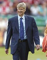 Photo: Jonathan Butler.<br /> Barnet v Arsenal. Pre Season Friendly. 14/07/2007.<br /> Arsene Wenger of Arsenal.