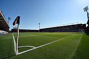 The Vitality Stadium under clear blue skies before the Premier League match between Bournemouth and Manchester United at the Vitality Stadium, Bournemouth, England on 18 April 2018. Picture by Graham Hunt.