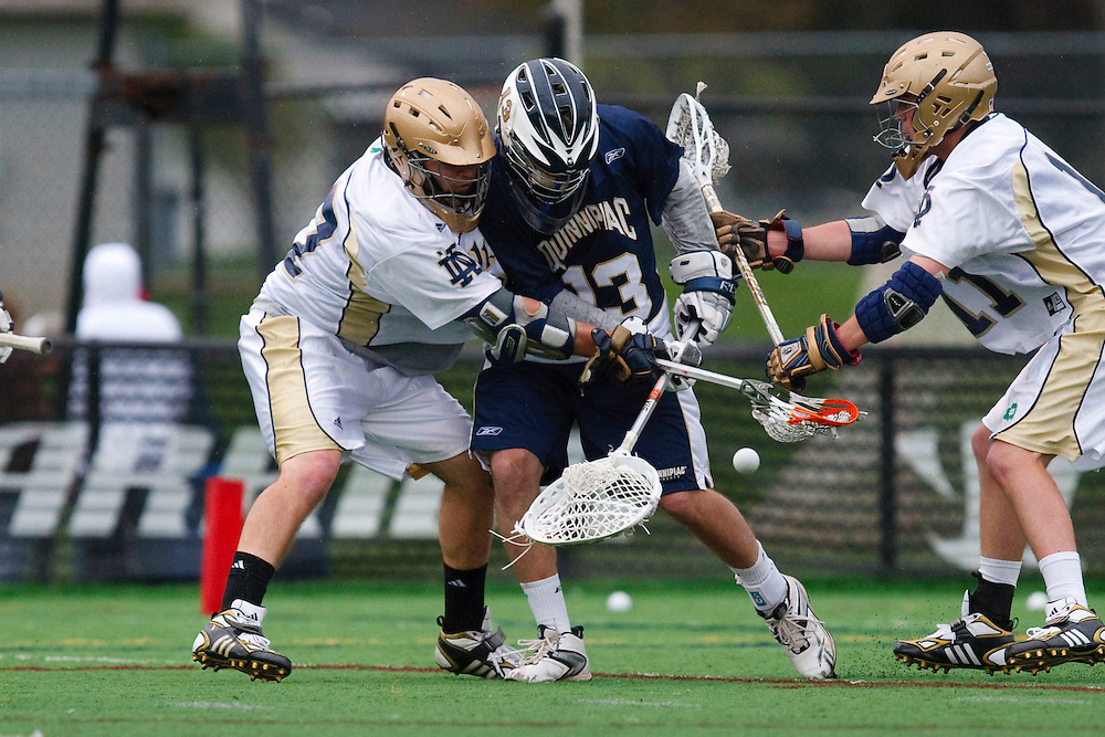 May 1, 2009:    in action during the NCAA Lacrosse game between Notre Dame and Quinnipiac at GWLL Tournament in Birmingham, Michigan. (Credit Image: Rick Osentoski/Cal Sport Media)