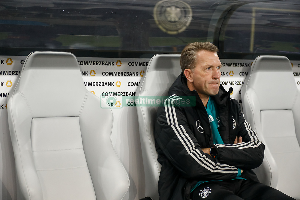November 15, 2018 - Leipzig, Germany - Germany goalkeeping coach Andreas Kopke looks on during the international friendly match between Germany and Russia on November 15, 2018 at Red Bull Arena in Leipzig, Germany. (Credit Image: © Mike Kireev/NurPhoto via ZUMA Press)