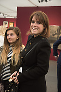 PRINCESS EUGENIE, Opening of Frieze Masters. Regents Park, 4 October 2017