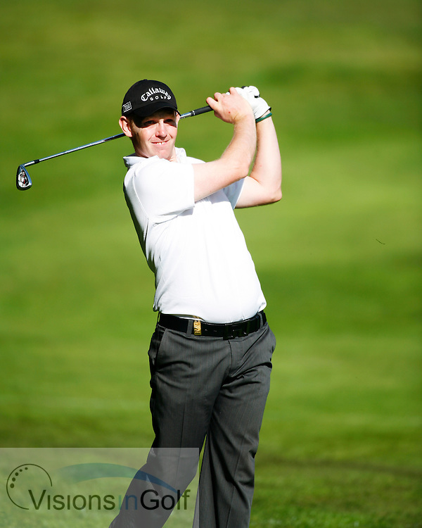 Stephen Gallacher<br /> BMW Championship 2006, Wentworth, Surrey, UK<br /> Picture Credit: Mark Newcombe / visionsingolf.com