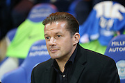 Peterborough United Manager Graham Westley  during the Sky Bet League 1 match between Peterborough United and Coventry City at London Road, Peterborough, England on 25 March 2016. Photo by Simon Davies.
