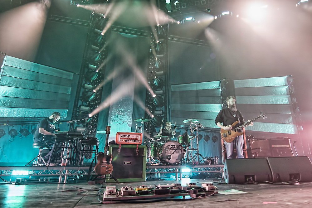 Mogwai in concert at the SSE Hydro, Glasgow, Scotland, Britain 16th December 2017