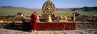 Mongolie, province de Selenge, monastère de Amarbayasgalant // Mongolia, Selenge province, Amarbayasgalant monastery