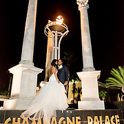 Brennan & Ashley Wedding Photography Samples | Sheraton New Orleans Canal Street and Champagne Palace | 1216 Studio Wedding Photography