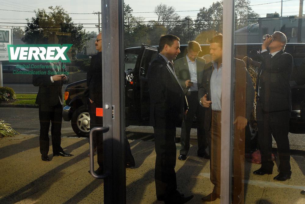 HSBC - Thought Exchange New York - exchange finalists visit Verrex in Mountainside, NJ.