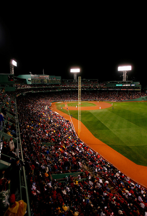 BOSTON - OCTOBER 24: A general view of Fenway Park during a game between the Boston Red Sox and the Colorado Rockies in Game One of the 2007 Major League Baseball World Series at Fenway Park on October 24, 2007 in Boston, Massachusetts.