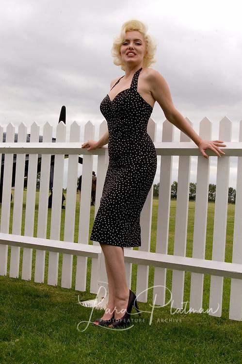 Maryln Monroe at Goodwood Revival Ladies at Goodwood