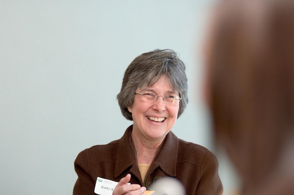 Baker Center Dedication..Women's Center....Kathy Krendl