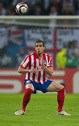 12.05.2010, Hamburg Arena, Hamburg, GER, UEFA Europa League Finale, Atletico Madrid vs Fulham FC im Bild Alvaro Dominguez, #18, Atletico Madrid, EXPA Pictures © 2010, PhotoCredit: EXPA/ J. Feichter / SPORTIDA PHOTO AGENCY