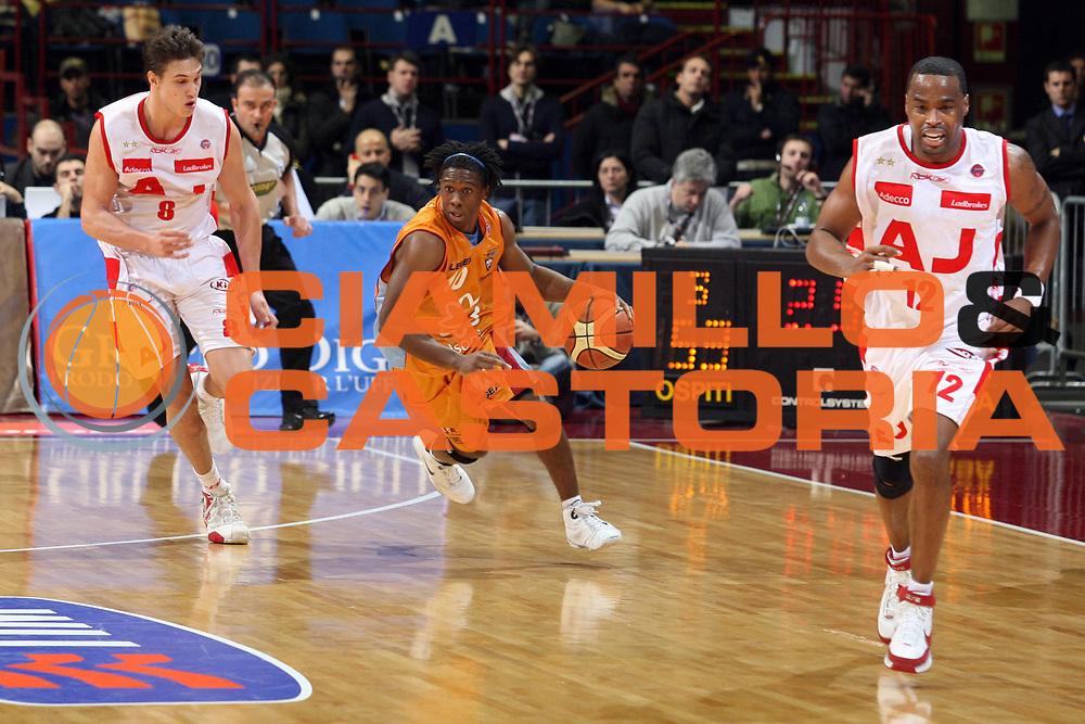 DESCRIZIONE : Milano Lega A1 2007-08 Armani Jeans Milano Solsonica Rieti<br /> GIOCATORE : Morris Finley<br /> SQUADRA : Solsonica Rieti<br /> EVENTO : Campionato Lega A1 2007-2008<br /> GARA : Armani Jeans Milano Solsonica Rieti<br /> DATA : 13/01/2008<br /> CATEGORIA : Palleggio<br /> SPORT : Pallacanestro<br /> AUTORE : Agenzia Ciamillo-Castoria/S.Ceretti