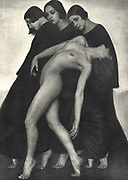 Rudolf Koppitz (4 January 1884 - 8 July 1936) was a Czechoslovak photographer, often credited as Viennese or Austrian, and photo-secessionist whose work is seen as maintaining the photographic style of pictorialism. Bewegungsstudie 'Motion Study' c. 1925