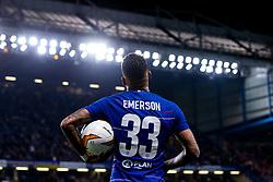Emerson Palmieri of Chelsea - Mandatory by-line: Robbie Stephenson/JMP - 18/04/2019 - FOOTBALL - Stamford Bridge - London, England - Chelsea v Slavia Prague - UEFA Europa League Quarter Final 2nd Leg