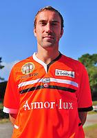 Maxime BACA - 16.10.2013 - Photo Officielle Lorient - Ligue 1<br /> Photo : Philippe Le Brech / Icon Sport