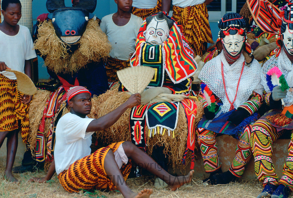 Dance festival in Cameroon, West Africa