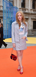 Ellie Bamber at the Royal Academy of Arts Summer Exhibition Preview Party 2017, Burlington House, London England. 7 June 2017.