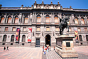 MEXICO, MEXICO CITY Museo Nacional de Arte on Plaza Tolsa