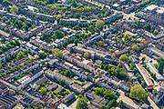 Nederland, Gelderland, Arnhem, 29-05-2019; zicht op het Spijkerkwartier (ook wel Spijkerbuurt) met Kastanjelaan, Parklaan. Woonwijk, in het verleden deels achterstandswijk en hoerenbuurt.<br /> View of the Spijker quarter  (Spijker neighbourhood) buurt), centre Arnhem.<br /> <br /> luchtfoto (toeslag op standard tarieven);<br /> aerial photo (additional fee required);<br /> copyright foto/photo Siebe Swart