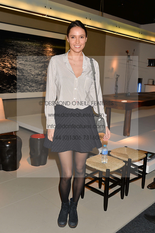 SASHA VOLKOVA at the PAD London 2014 VIP evening held in the PAD Pavilion, Berkeley Square, London on 14th October 2014.