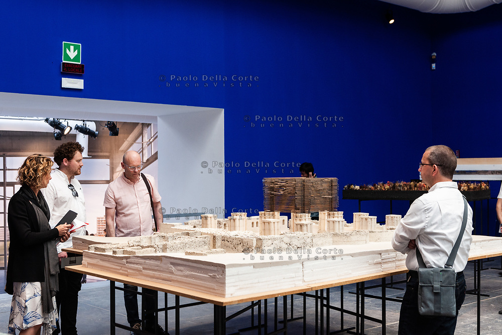 Venezia - 16. Mostra di Architettura. Padiglioni ai Giardini. Glimpses of reality - architecture models of Atelier Peter Zumthor from the collection of Kunsthaus Bregenz""