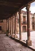SPAIN, CASTILE AND LEON Pedraza de la Sierra medieval town