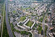 Grigny, département de l'Essonne (91), la grande Borne, grouping of different housing configurations.