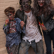 Atlantic City Zombie Walk on the boardwalk.<br />