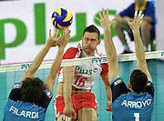 WROCLAW 26/06/2010.VOLLEYBALL WORLD LEAGUE 2010.INTERCONTINENTAL ROUND.POLSAND v ARGENTINA.PATRYK CZARNOWSKI /POL/.FOT. PIOTR HAWALEJ / WROFOTO