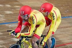 AVILA RODRIGUEZ Ignacio Pilot: FONT BERTOLI Joan, ESP, Pursuit Finals , 2015 UCI Para-Cycling Track World Championships, Apeldoorn, Netherlands