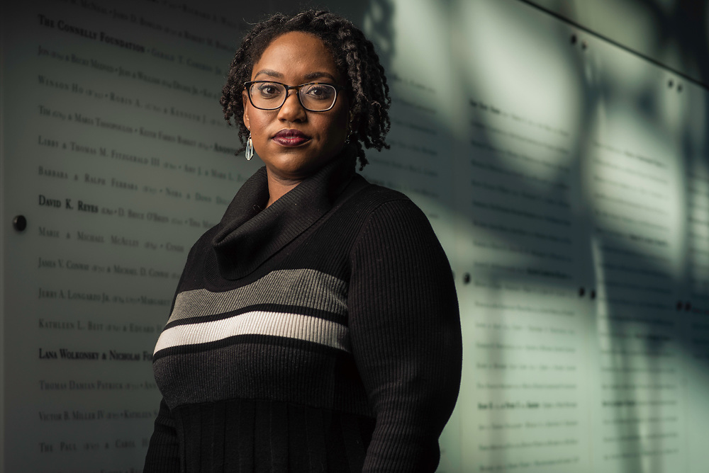 WASHINGTON, DC -- 12/5/16 -- Marcia Chatelain is an Associate Professor of History at Georgetown. She has spurred the development of the syllabus as a tool for social justice.…by André Chung #_AC25137