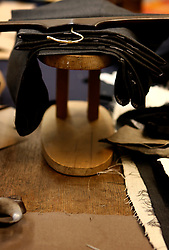 UK ENGLAND LONDON 15JAN09 - Suits on the cutting table at The Huntsman tailors in Saville Row, central London. Established in 1849, the Huntsman has been located at the legentary Saville Row since 1919...jre/Photo by Jiri Rezac