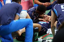 INFORTUNIO ALESSIA ORRO<br /> ITALIA - OLANDA<br /> VOLLEYBALL WORLD GRAND PRIX 2016<br /> BARI 18-06-2016<br /> FOTO GALBIATI - RUBIN
