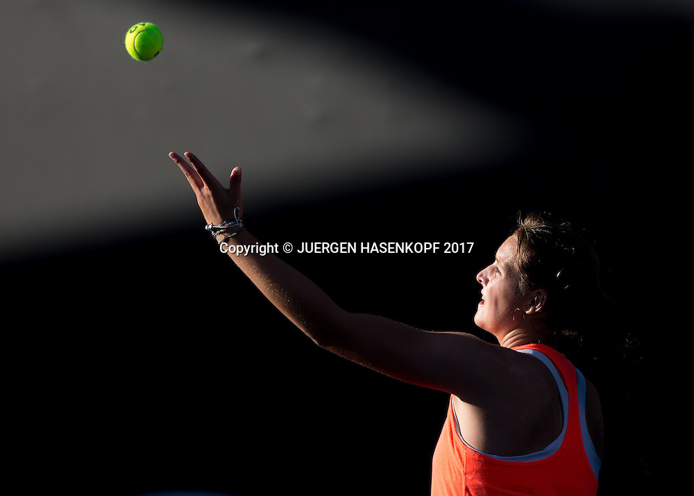 JULE NIEMEIER (GER) Junioren Wettbewerb<br /> <br /> Australian Open 2017 -  Melbourne  Park - Melbourne - Victoria - Australia  - 21/01/2017.