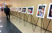 Warsaw, Poland - 2016 October 17: Photo Exhibition by photographer Adam Nurkiewicz, pictures from 15th IAAF World Athletics Championships Beijing 2015 during Beiks Media Show 2016 at Gromada Hotel on October 17, 2016 in Warsaw, Poland.<br /> <br /> Adam Nurkiewicz declares that he has no rights to the image of people at the photographs of his authorship.<br /> <br /> Picture also available in RAW (NEF) or TIFF format on special request.<br /> <br /> Any editorial, commercial or promotional use requires written permission from the author of image.<br /> <br /> Mandatory credit:<br /> Photo by &copy; Adam Nurkiewicz / Mediasport