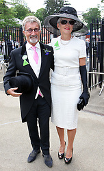 Eddie Jordan and wife  at Royal Ascot, Wednesday,20th June 2012.  Photo by: Stephen Lock / i-Images