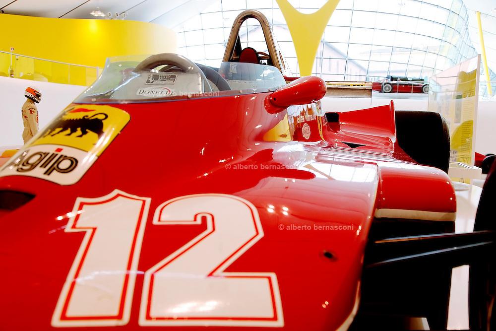 Medena, Casa Museo Enzo Ferrari. Jilles Villeneuve's car , Modena