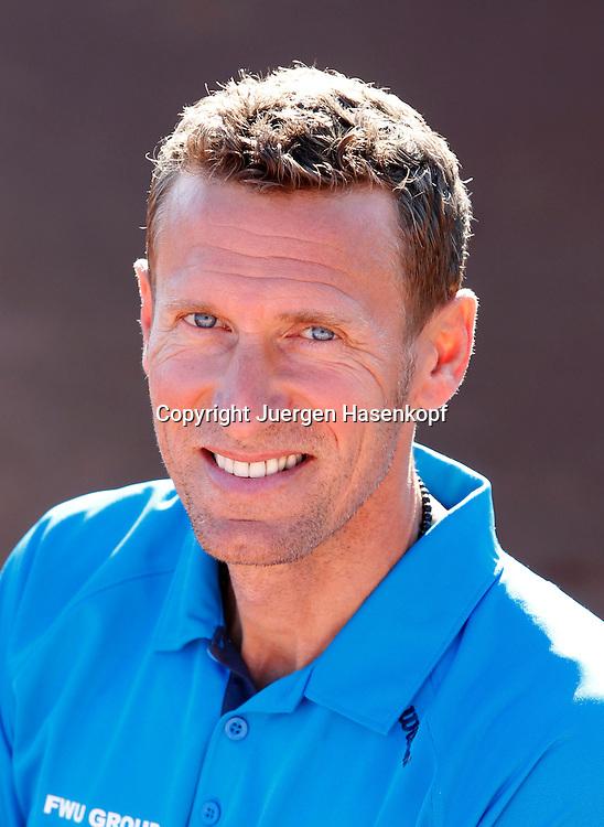Davis Cup Captain Patrik Kuehnen(GER), Einzelbild,Halbkoerper,Hochformat,privat,Portrait,