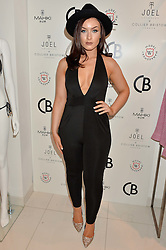 Singer songwriter KATIE LONDON at the launch for the collaboration of Joel Swimwear for Collier Bristow held at Collier Bristow, 61 King's Road, Chelsea, London on 11th August 2016.