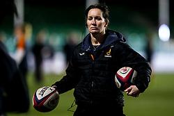 Worcester Warriors Women director of rugby Jo Yapp - Mandatory by-line: Robbie Stephenson/JMP - 11/01/2020 - RUGBY - Sixways Stadium - Worcester, England - Worcester Warriors Women v Richmond Women - Tyrrells Premier 15s