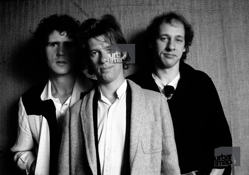 Dire Straits. Pick Withers John Illsley and Mark Knopfler, 1978